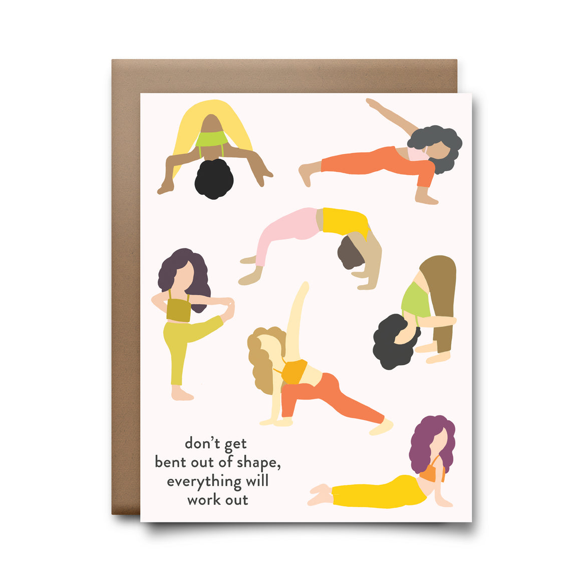 bent out of shape | greeting card