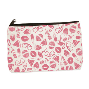 pink things | zip pouch