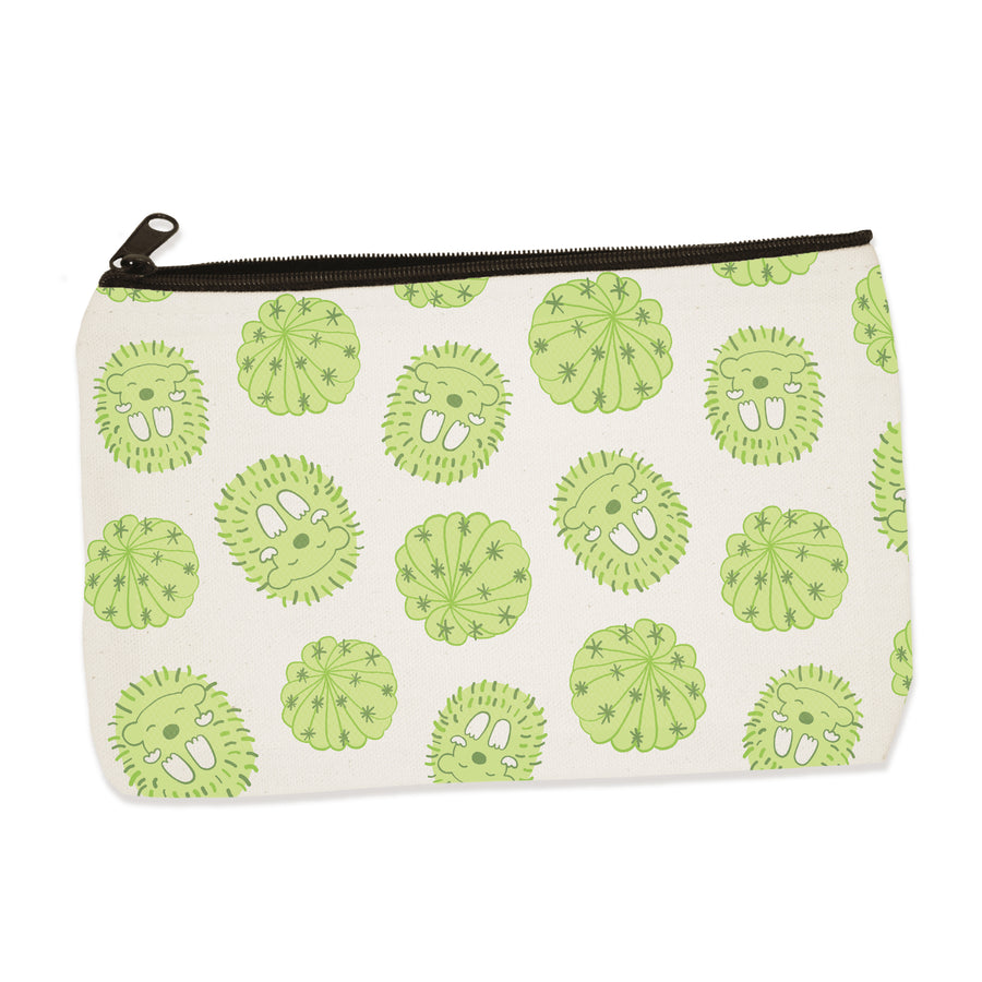 prickly | zip pouch