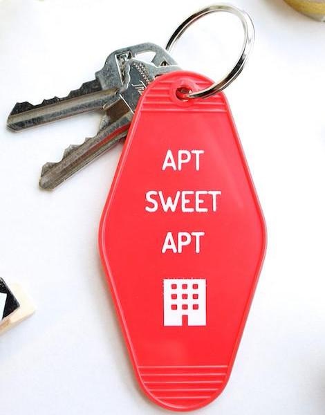 apt sweet apt | key tag