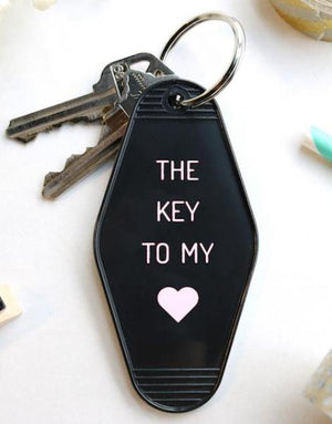 key to my heart | key tag