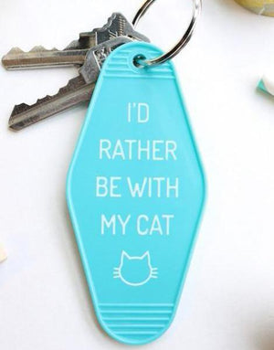 rather cat | key tag