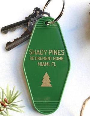 shady pines | key tag