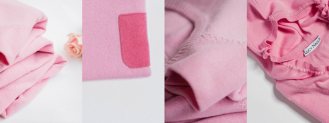 Lucy Nagle pink cashmere