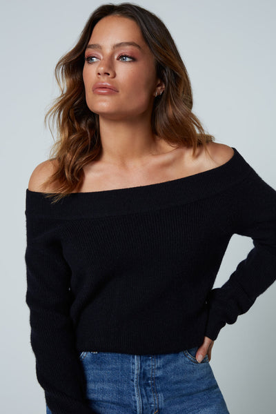 The Off the Shoulder in Black
