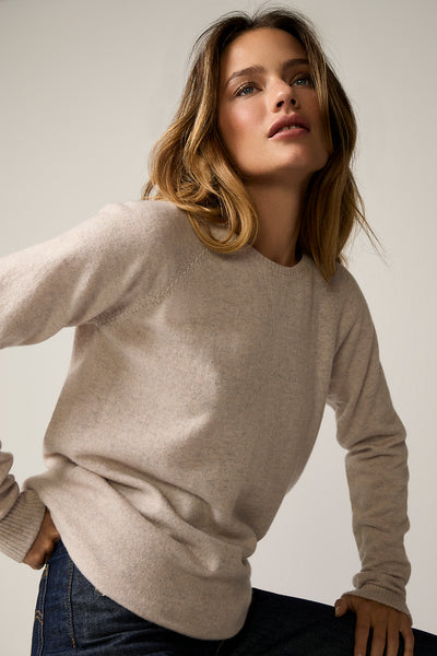 The Sweatshirt Style in Sand