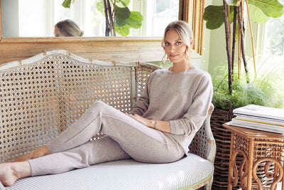 The Seam Lounge Pants in Taupe