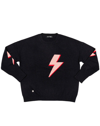 The Bolt Sweater in Black