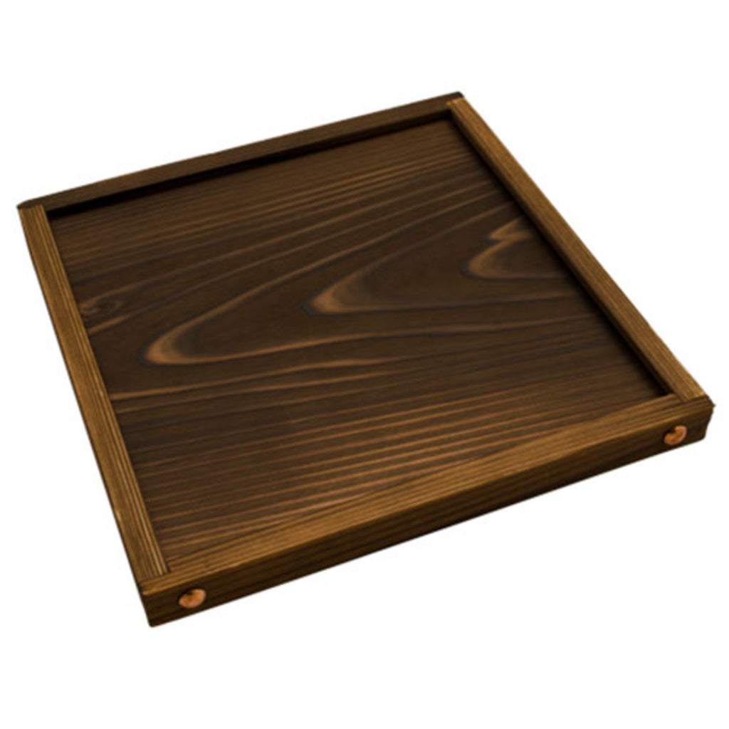 Yakisugi Wooden Base With Edge