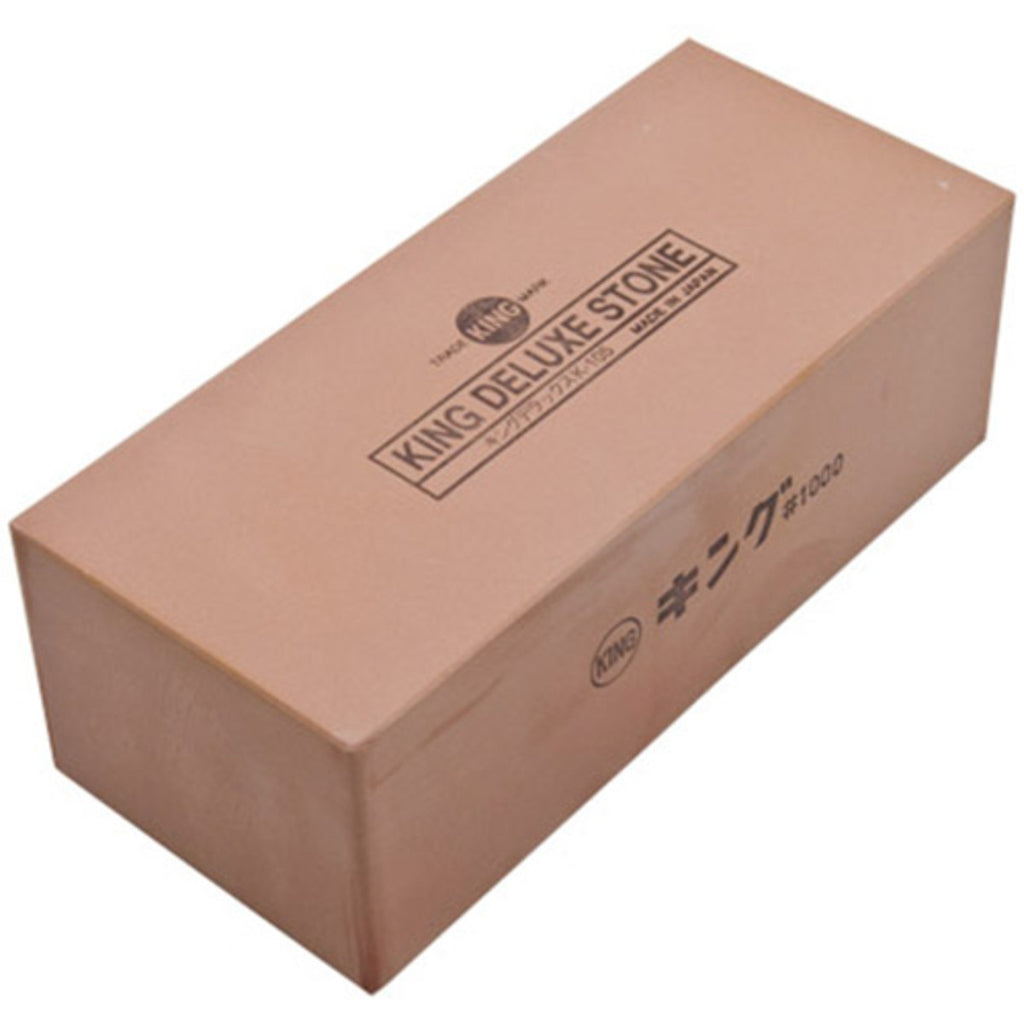 King Medium Grain Sharpening Stone - #1000 (available in 3 sizes)