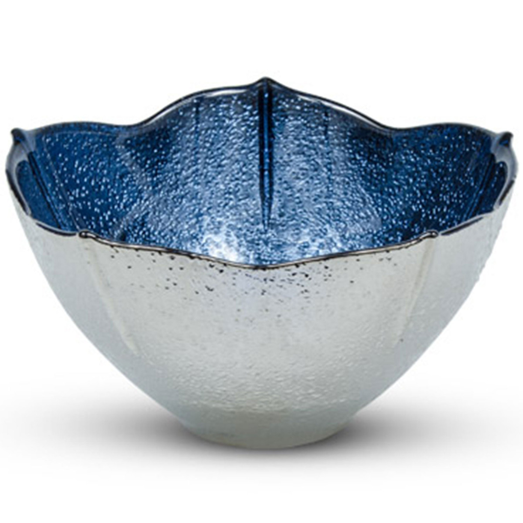 Blue Momiji Leaf Bowl 6 oz