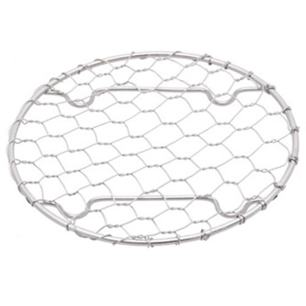 Round Stainless Net Plate (available in 3 sizes)