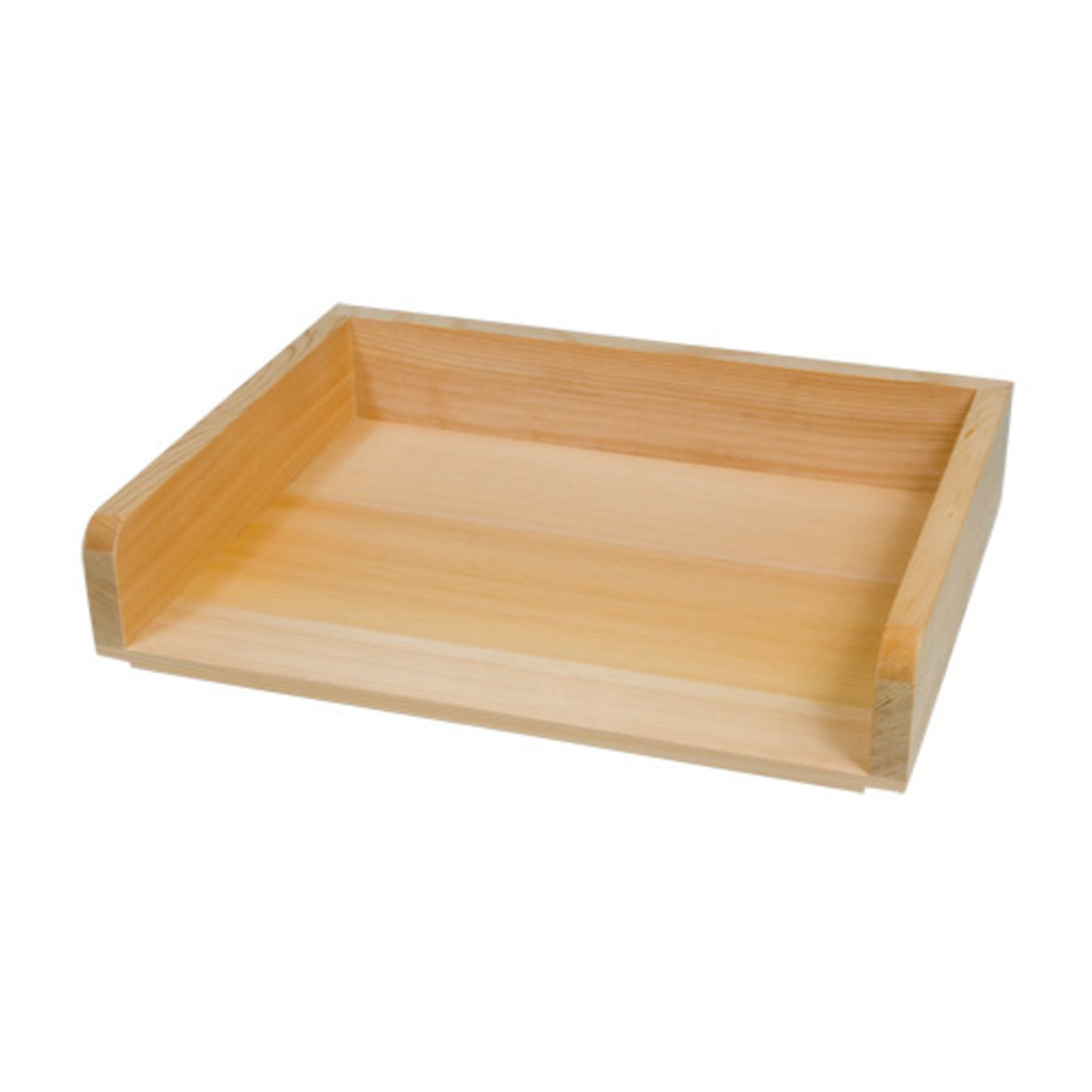 Wooden Prep Pan Tsukuri (available in 2 sizes)