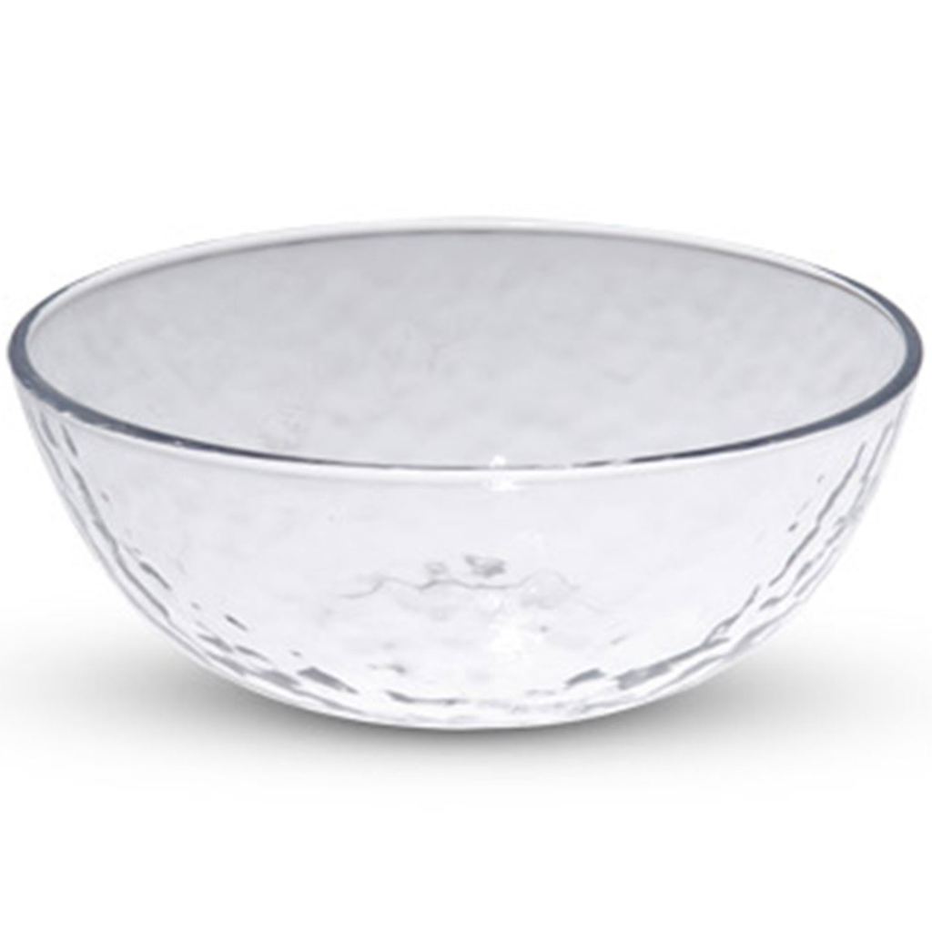 Clear Mottled Glass Small Bowl