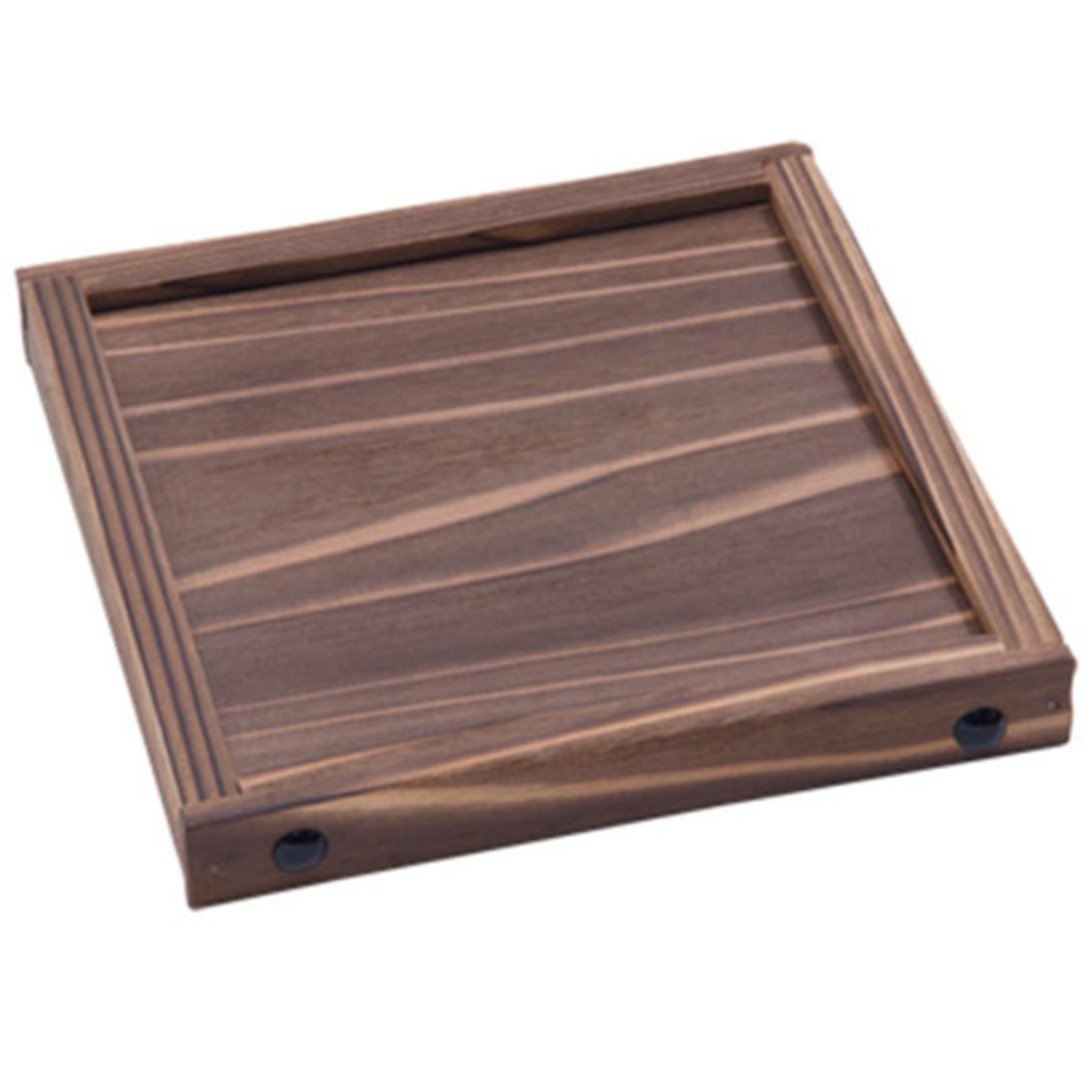 Cedar Square Wooden Base