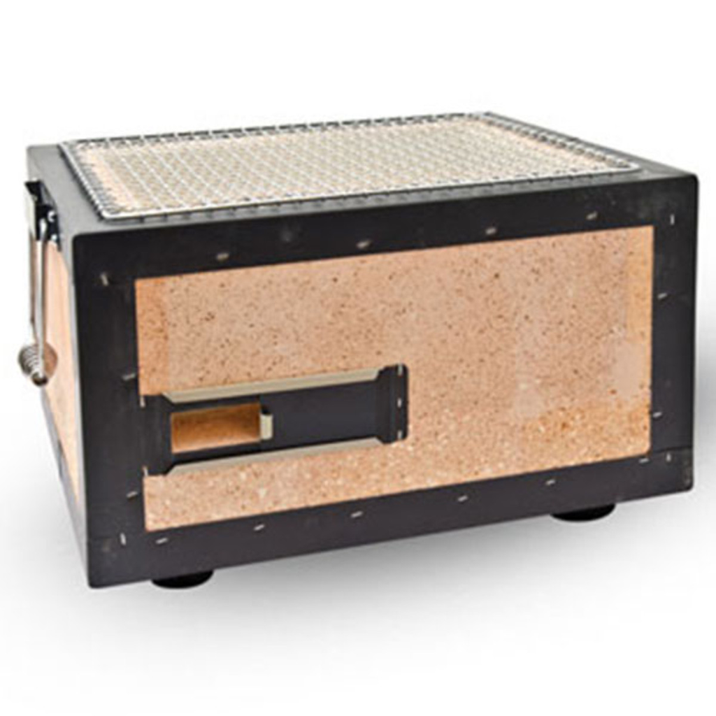 Charcoal Konro Grill With Net - Small