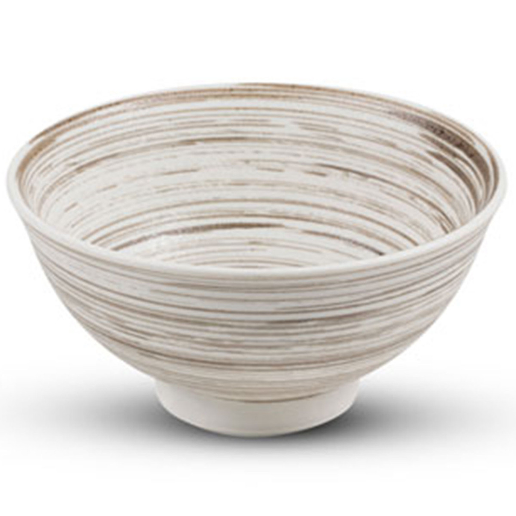 Uzumaki Brown Deep Bowl 24.03 oz