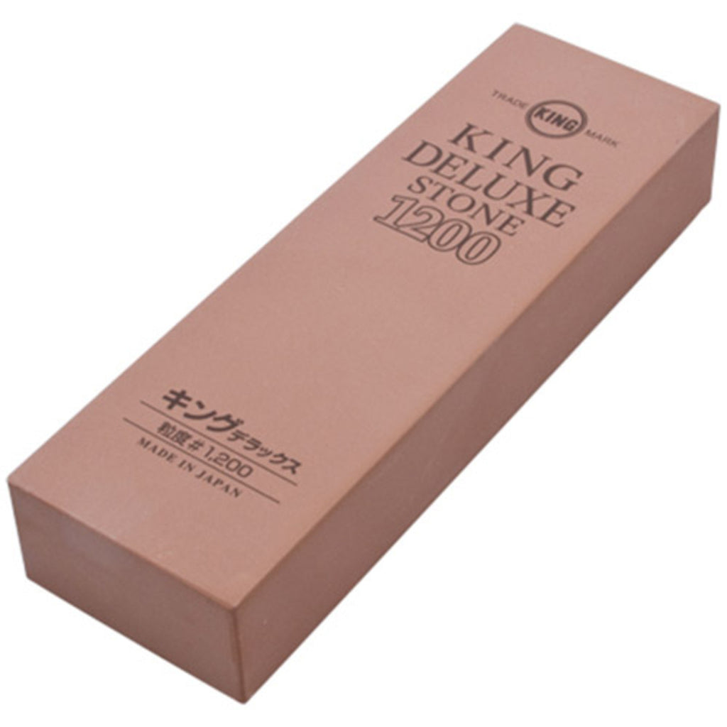 King Deluxe Medium Grain Sharpening Stone - #1200 - S