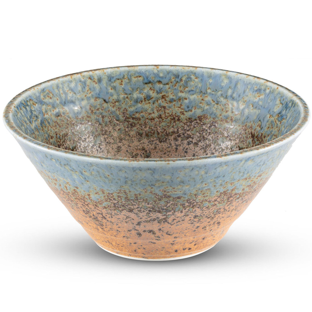 Ainagashi Blue Round Bowl 36 oz