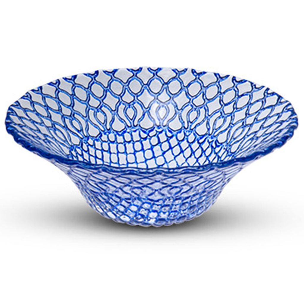Hana Blue Glass Bowl (available in 2 sizes)