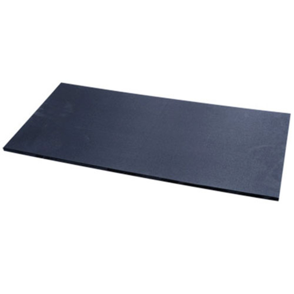 Black Textured And Slip Resistant Polyethylene Cutting Board (available in 2 sizes)