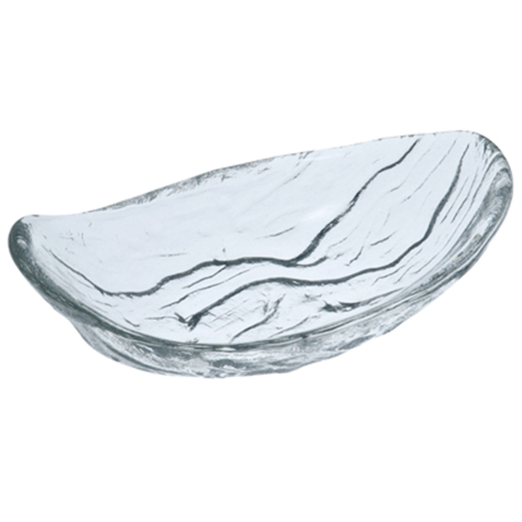 River Ripple Oval Glass Bowl 6.5 oz
