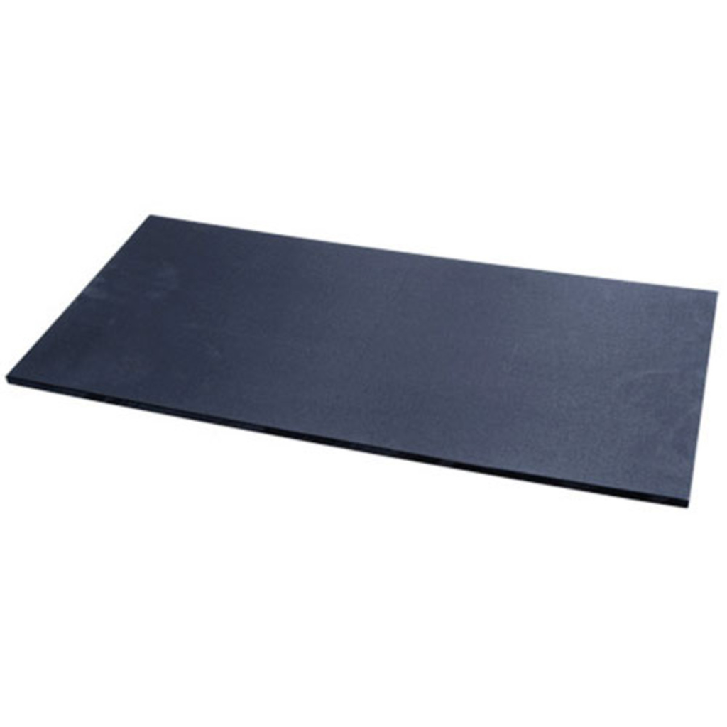 Black Slip Resistant Polyethylene Cutting Board (available in 3 sizes)