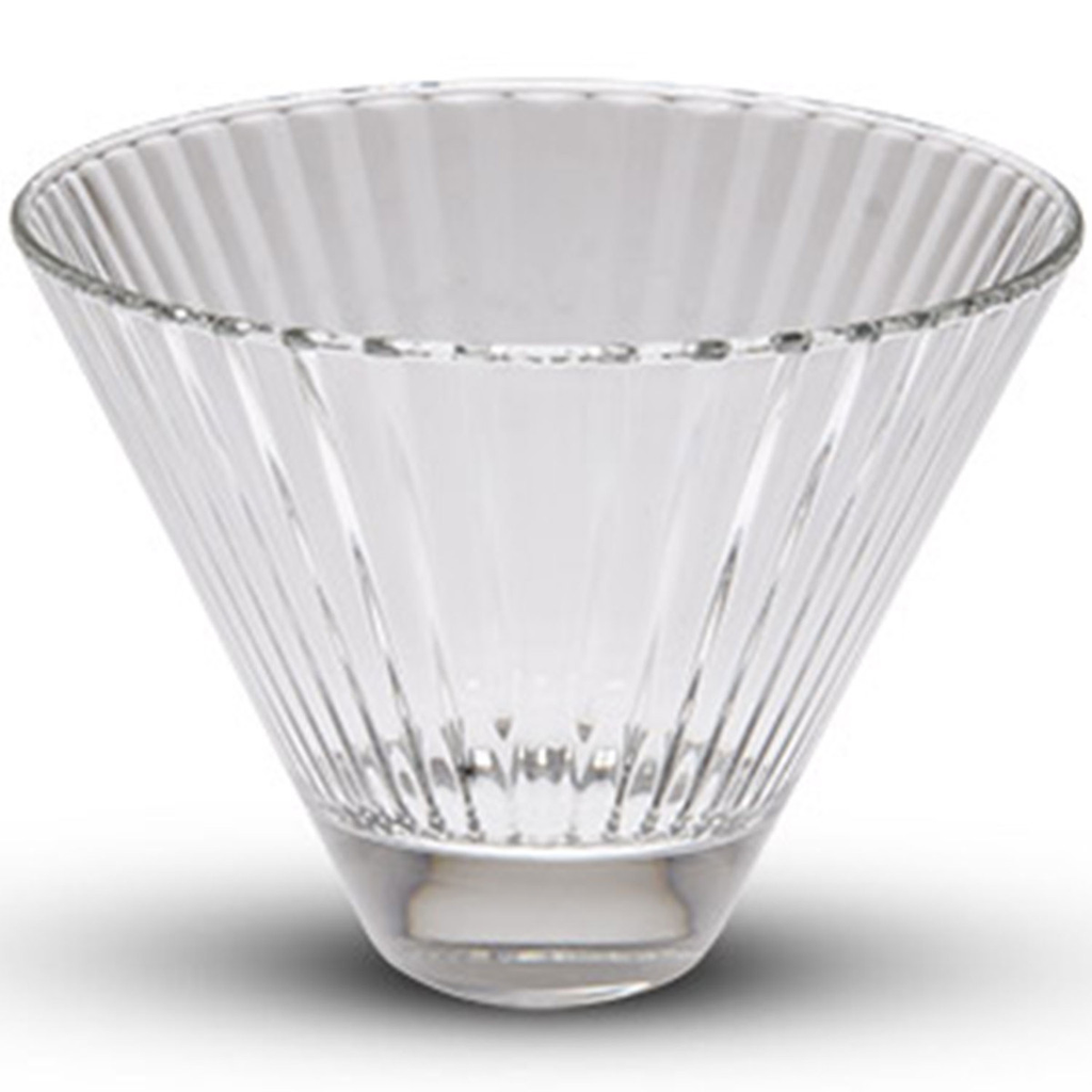 Diva Tall Oval Glass Bowl 12 oz