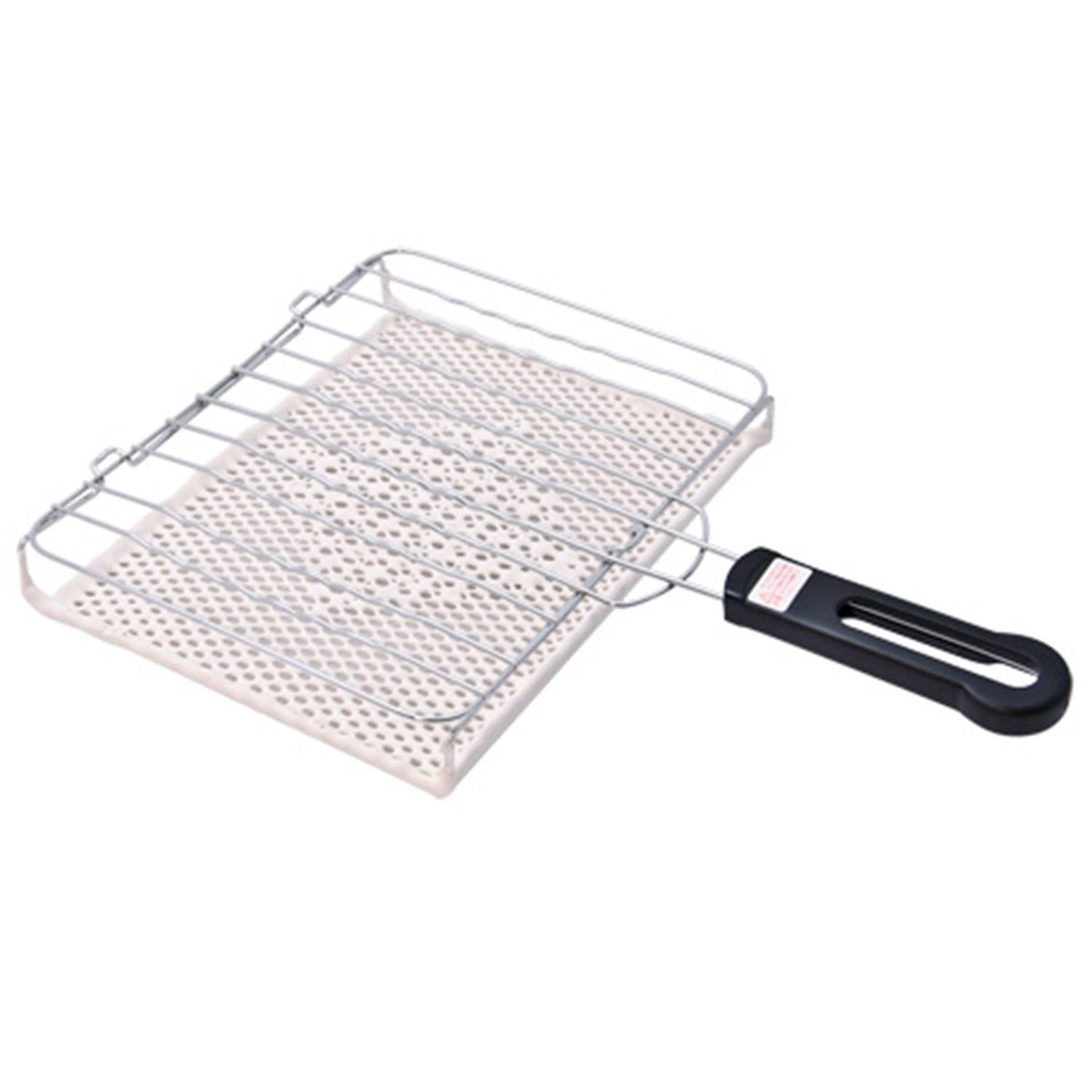 Yakiami Grilling Basket With Ceramic Coating