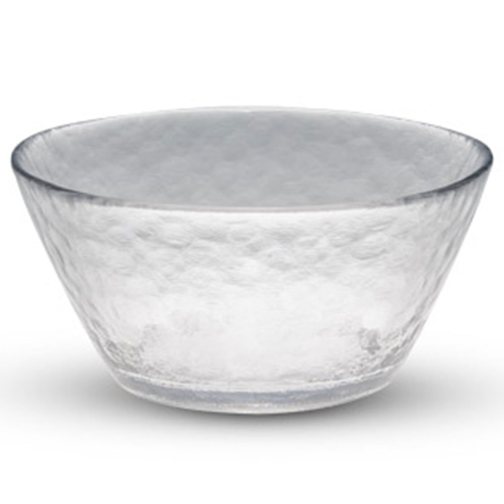 Clear Round Glass Bowl 11 oz