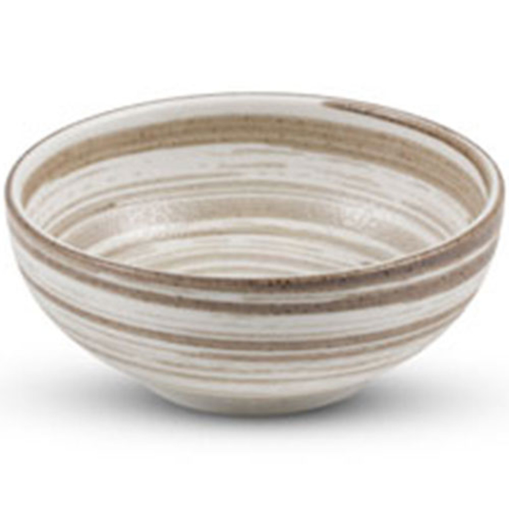 Uzumaki Brown Round Bowl