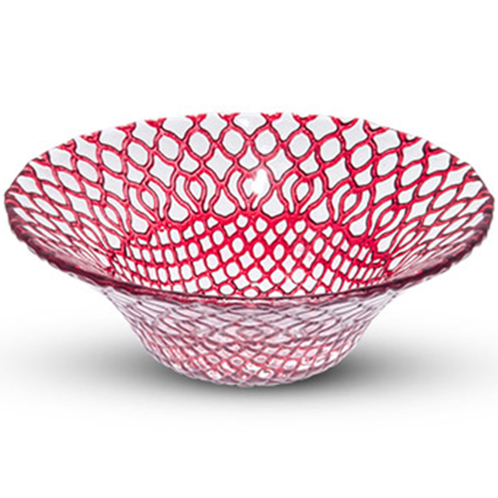Hana Red Glass Bowl (available in 2 sizes)