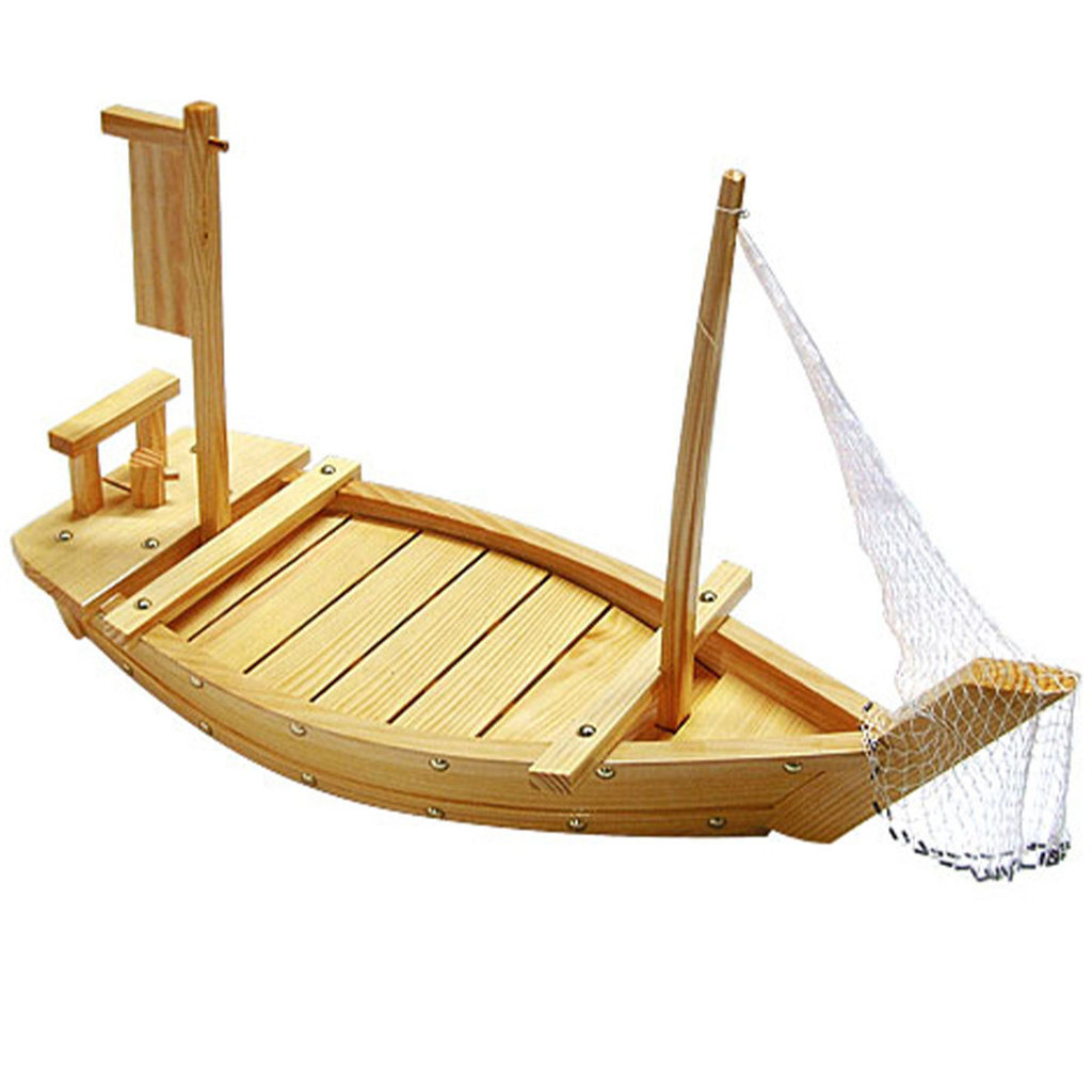 Wooden Shiraki Sushi Boat (available in 3 sizes)