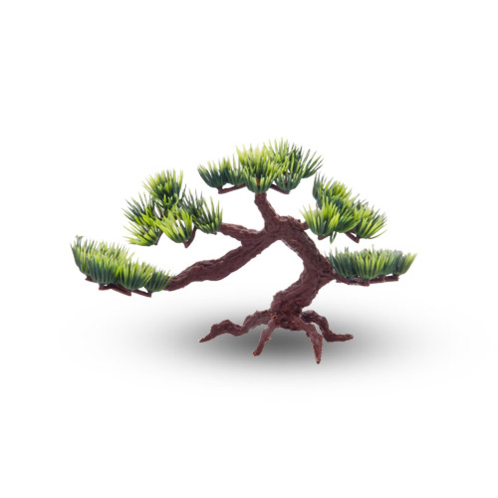Plastic Pine Tree Decoration