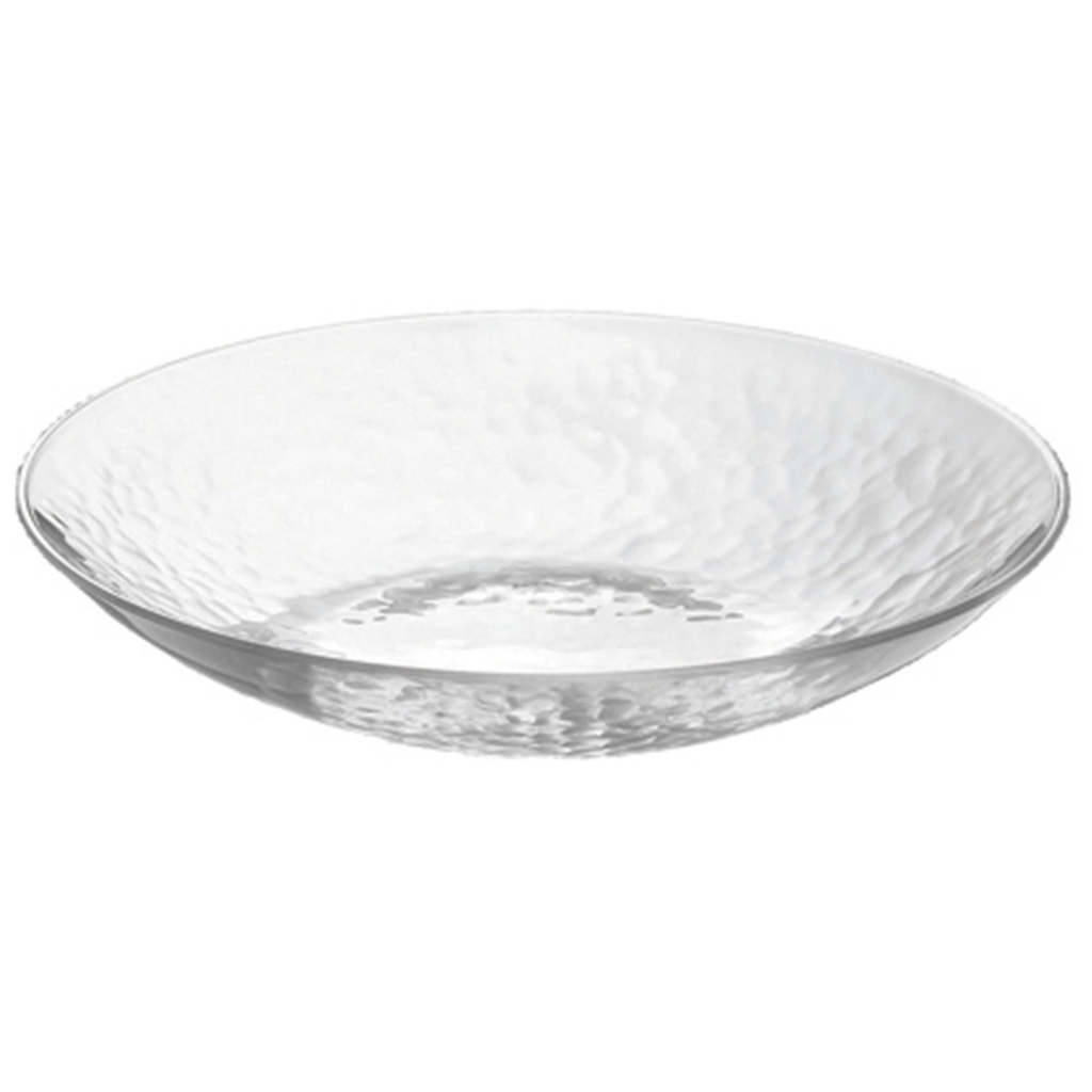 Orbit Mottled Coupe Glass Bowl