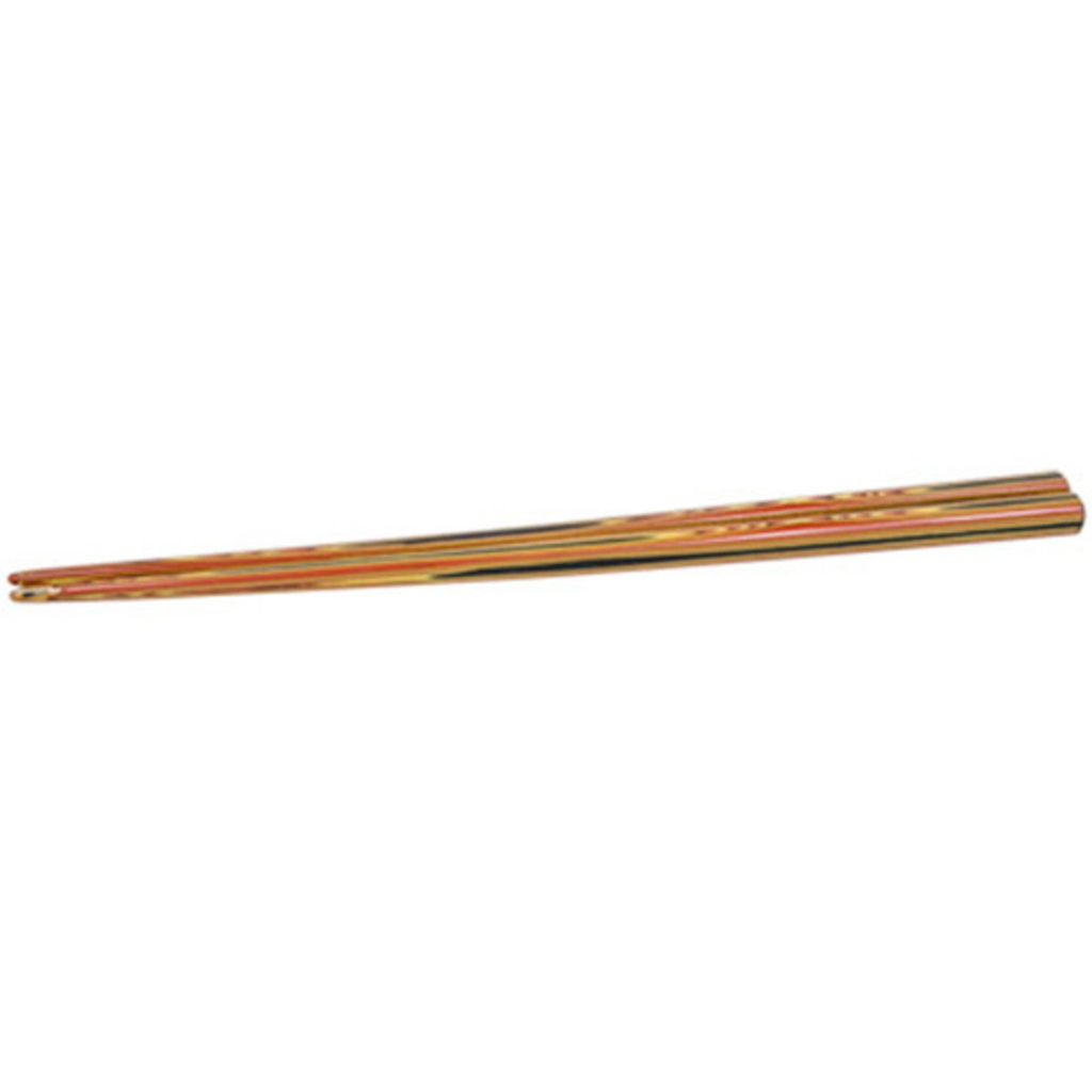Red Exposed Wooden Chopsticks