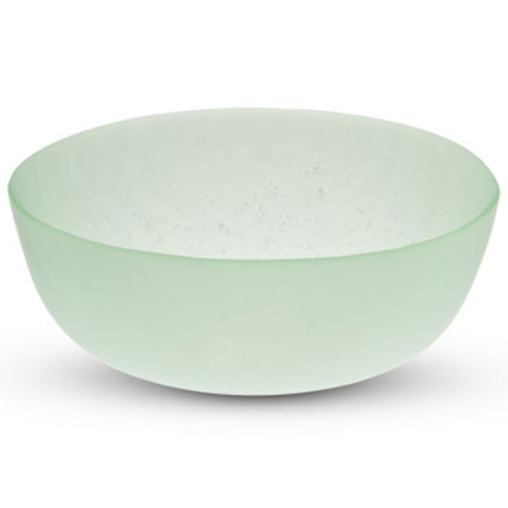Green Wakakusa Glass Bowl (available in 2 sizes)