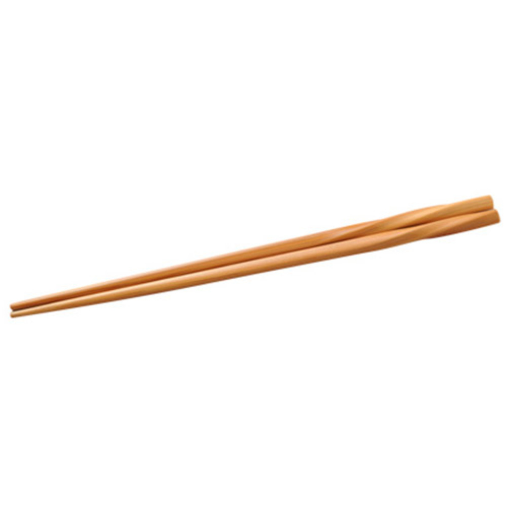 Natural Twist Bamboo Chopsticks