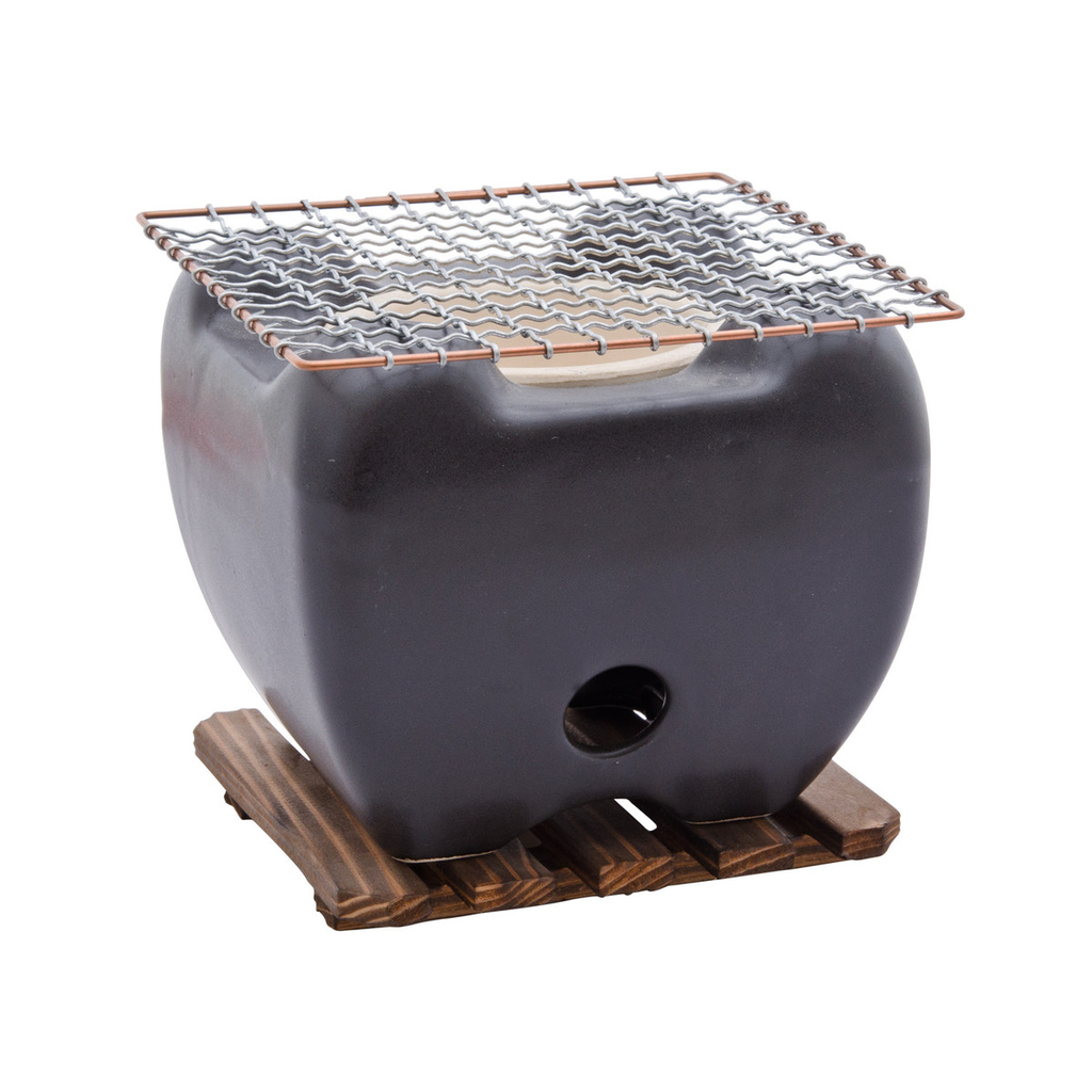 Black Konro Grill (Net & Wooden Base Sold Separately)