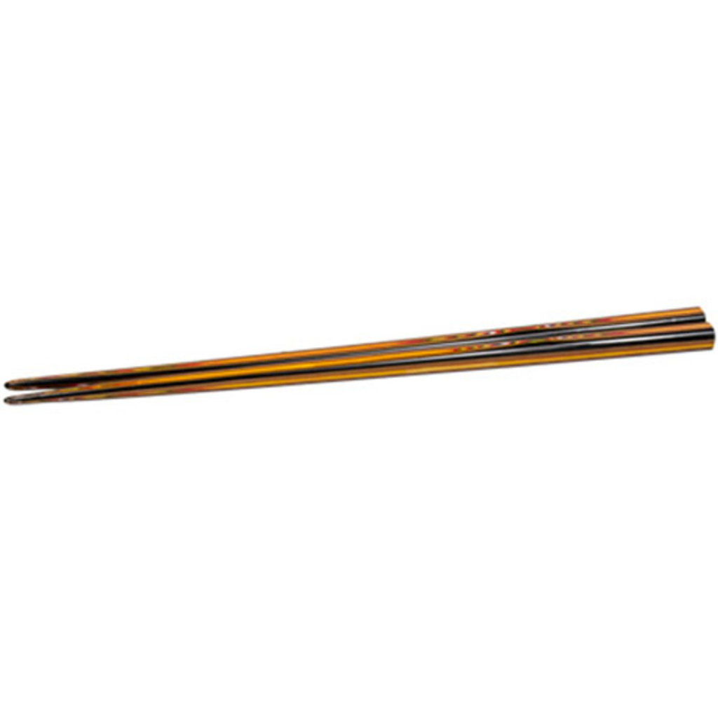 Black Exposed Wooden Chopsticks