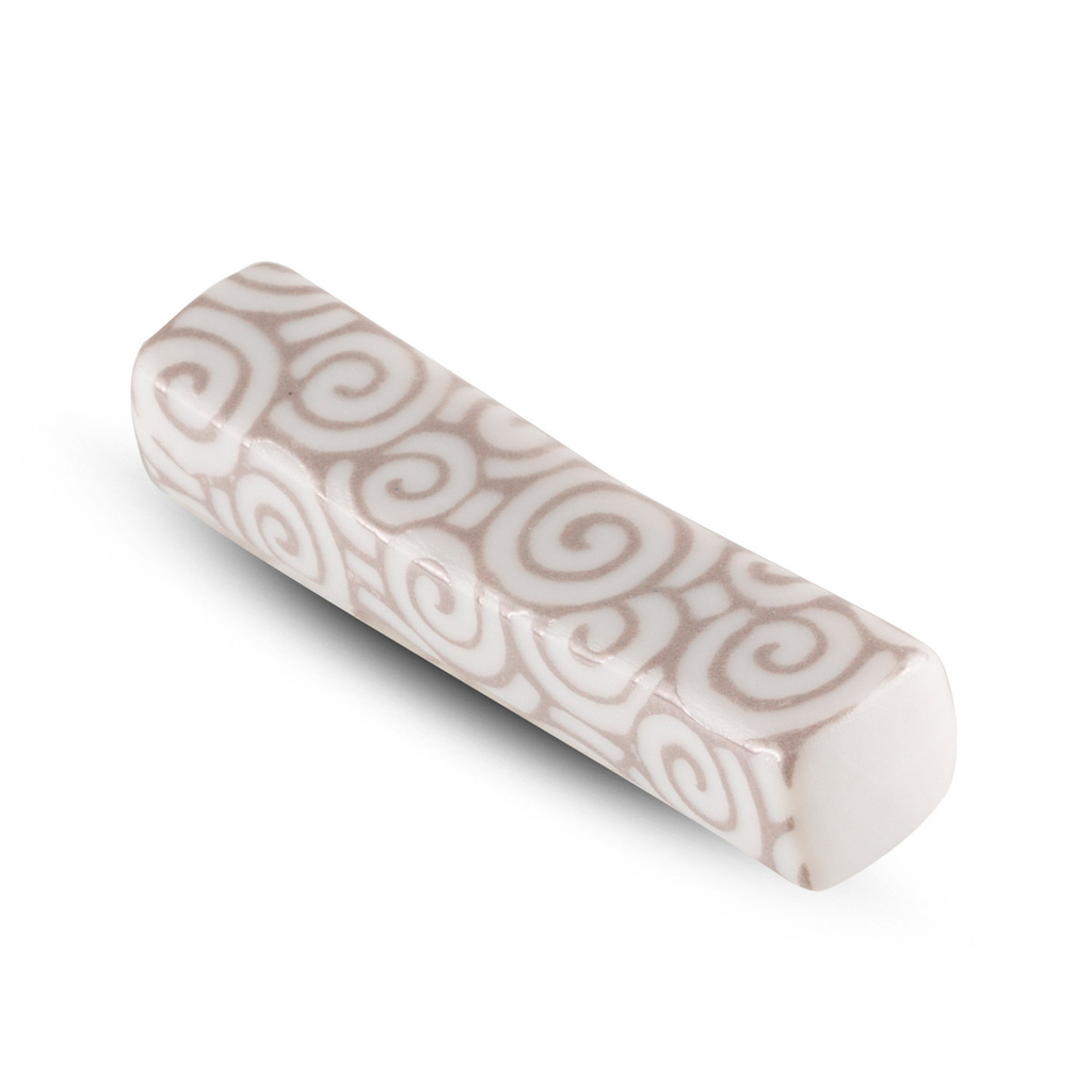 White Uzu Matte Chopstick Rest