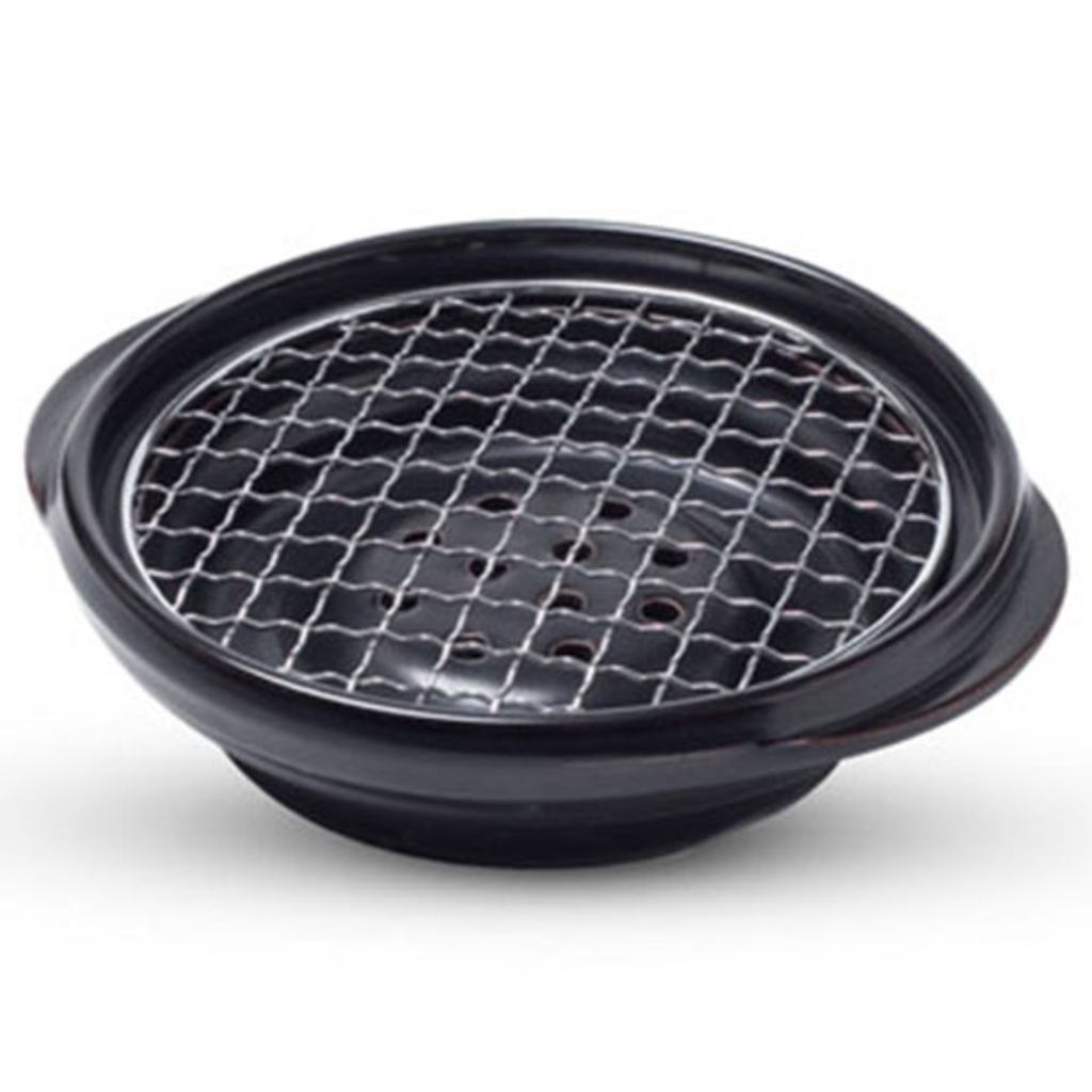 Ishiyaki Grill With Round Net Screen