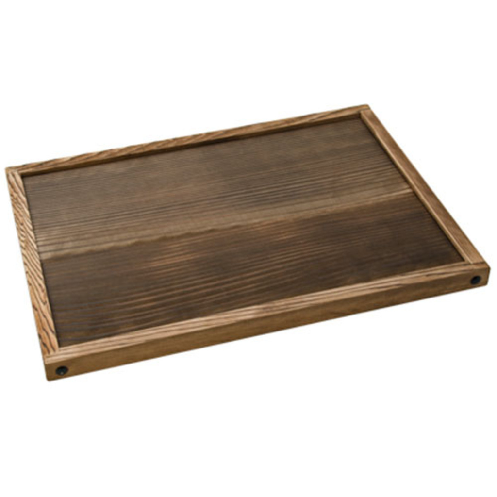 Wooden Base For Charcoal Konro Grill Small