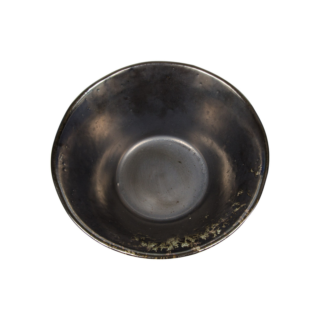 Metallic Slate Gray Round Ramen Bowl