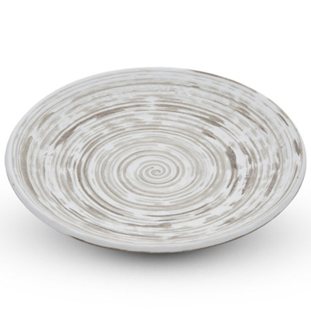 Uzumaki Brown Round Plate