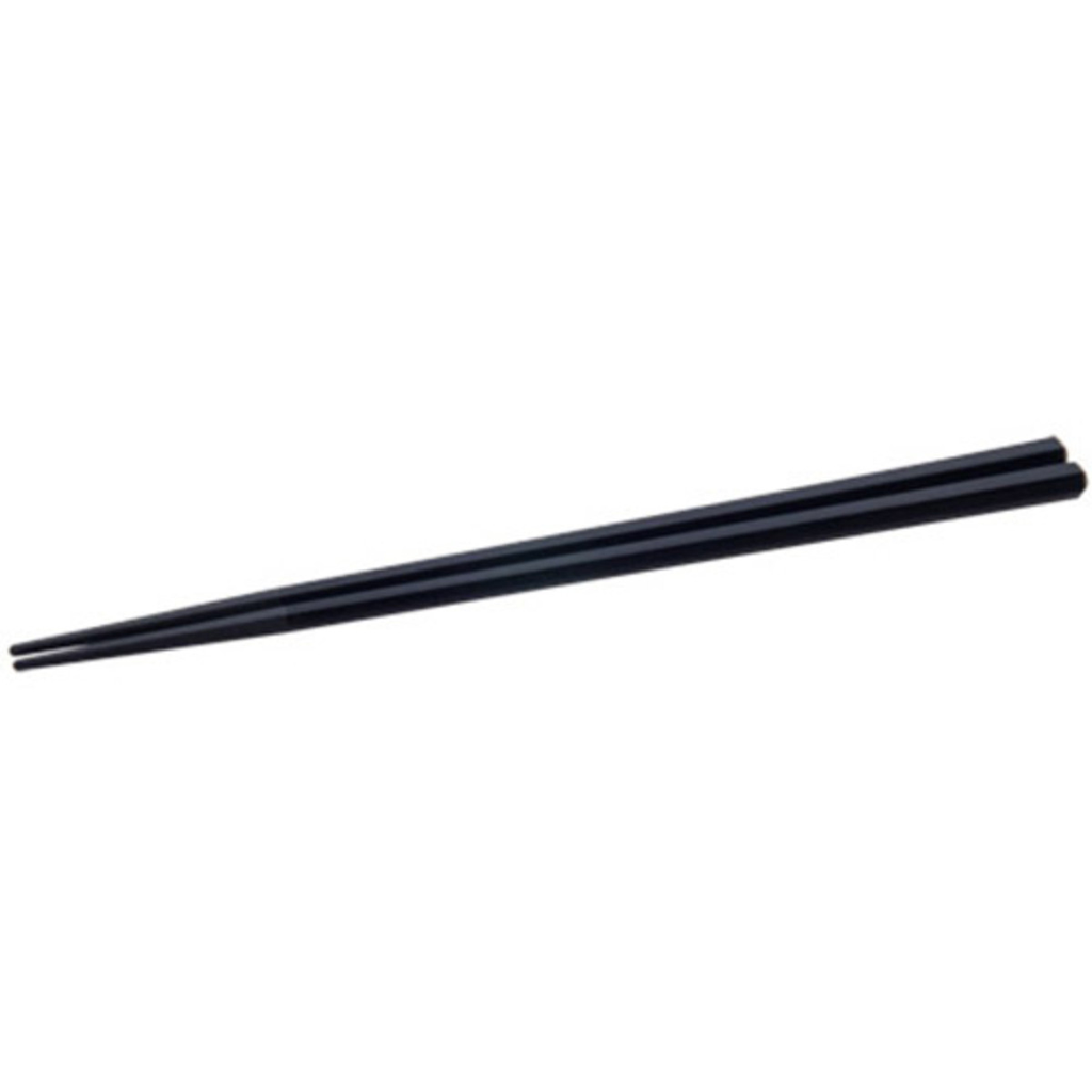 Black Melamine Hexagon Chopsticks