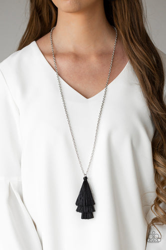 Triple The Tassel - Black