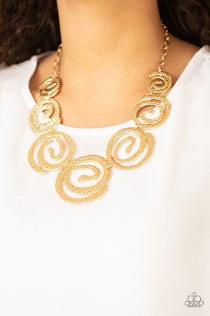 Statement Swirl - Gold