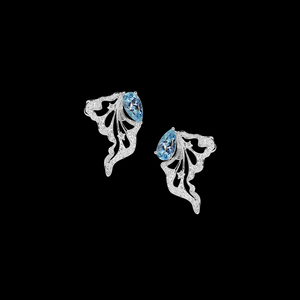 Constellation Earrings - Aquamarine