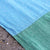 ORGANIC Linen Green/Blue/Yellow Beach Blanket
